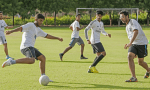 All You need to know about NATIONAL LAW UNIVERSITY JODHPUR-Football ground