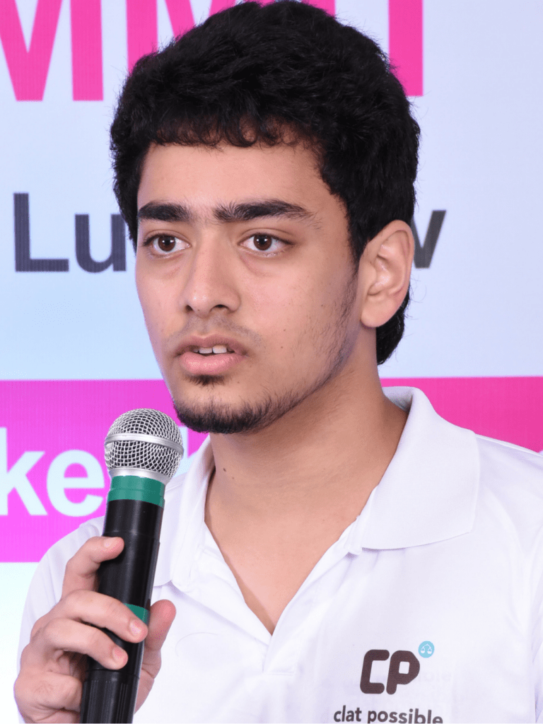 CLAT AIR 1 VIRAJ ANANTH SHARING TIPS ON HOW TO EXCEL IN THE EXAM