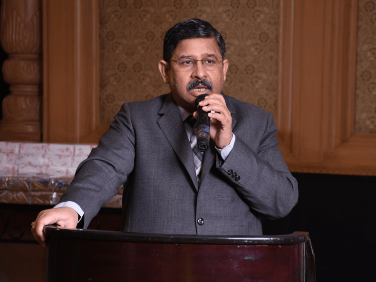 JUSTICE RAKESH SRIVASTAVA INSPIRING STUDENTS TO LITIGATE AFTER GRAUDATING FROM LAW SCHOOLS