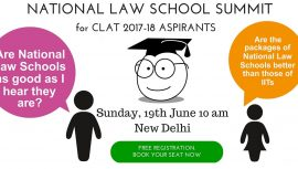NATIONAL LAW SCHOOL AWARENESS SUMMIT new delhi for clat ailet and law entrance exam aspirants