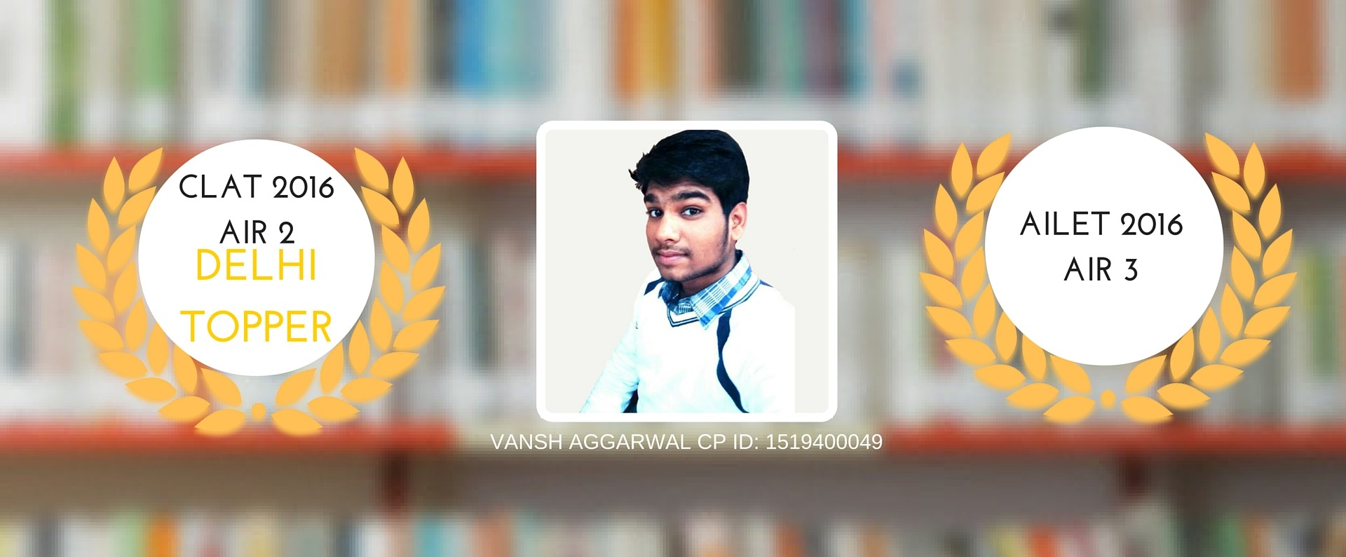 TIPS TRICKS & SUCCESS MANTRA FROM VANSH AGGARWAL CLAT 1I2 2 & AILET AIR 3