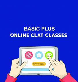 Basic Plus Online Clat Classes